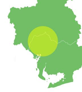営業エリア地図