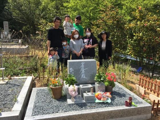 愛知県犬山市 梶原様 椿パーク お墓を建てる