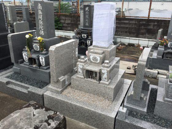 岐阜県羽島市 谷口様 お墓を建てる
