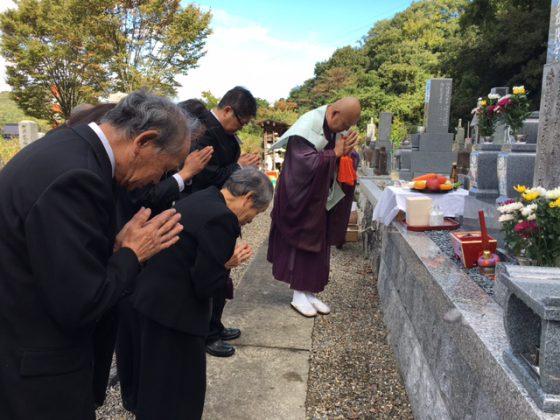 愛知県犬山市 大泉寺 河村様 お墓を建てる
