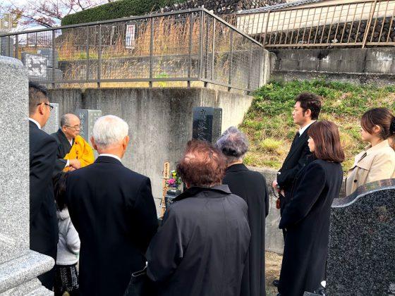 愛知県犬山市 瑞泉寺 髙塚様 お墓を建てる