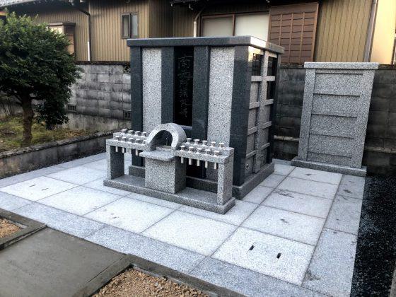 岐阜県羽島郡笠松町 河野称名寺 永代供養墓を建てる