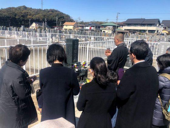 愛知県小牧市 泉徳寺 いづみ霊園 古澤様 お墓を建てる