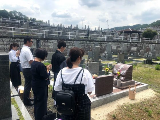 岐阜県可児市 鳩吹霊園 お墓を建てる