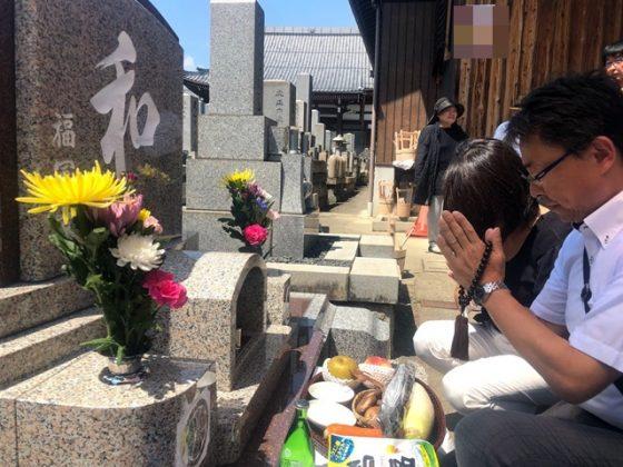 愛知県犬山市 本龍寺 福冨様 お墓を建てる