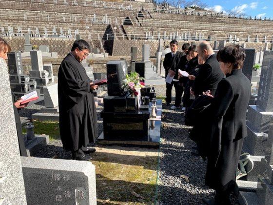 岐阜県可児市 鳩吹霊園 清水様 お墓を建てる